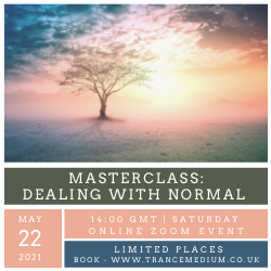 Dealing with normal - Masterclass