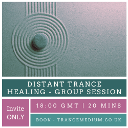 Distant Trance Healing - Group Sessions