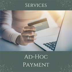Ad-Hoc payment
